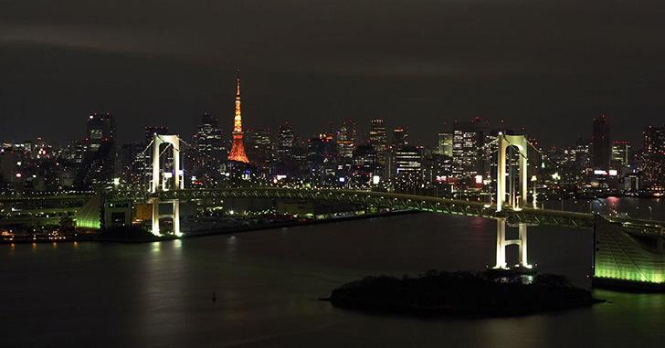 13位|グランドニッコー東京 台場 夜景がキレイなホテルランキング