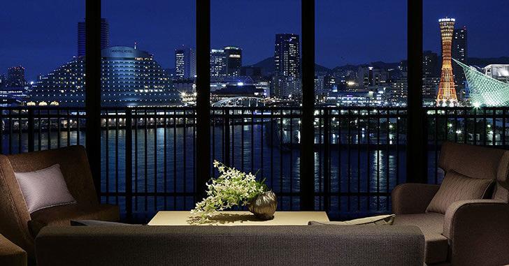 22位|神戸みなと温泉 蓮 夜景がキレイなホテルランキング