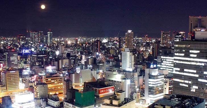 24位|ホテルグランヴィア大阪 夜景がキレイなホテルランキング