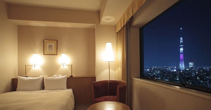 31位|第一ホテル両国 夜景がキレイなホテルランキング