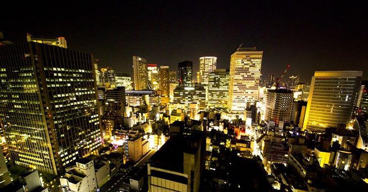 33位|ANAクラウンプラザホテル大阪 夜景がキレイなホテルランキング