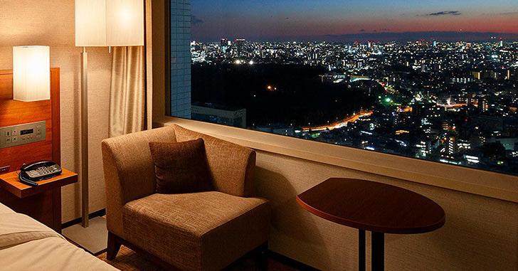 37位|小田急ホテルセンチュリーサザンタワー 夜景がキレイなホテルランキング