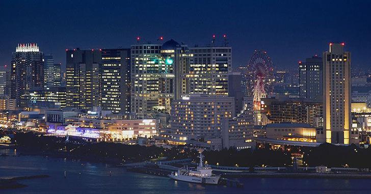 38位|第一ホテル東京シーフォート 夜景がキレイなホテルランキング