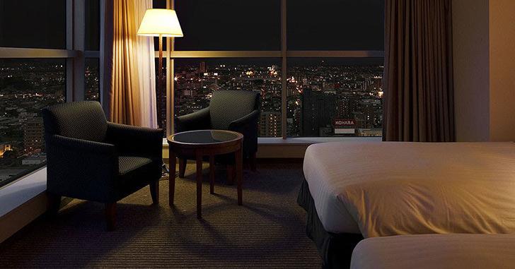 39位|ホテルセンチュリー静岡 夜景がキレイなホテルランキング