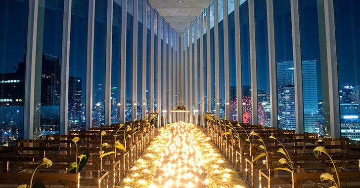 61位|アルモニーアンブラッセ大阪 夜景がキレイなホテルランキング