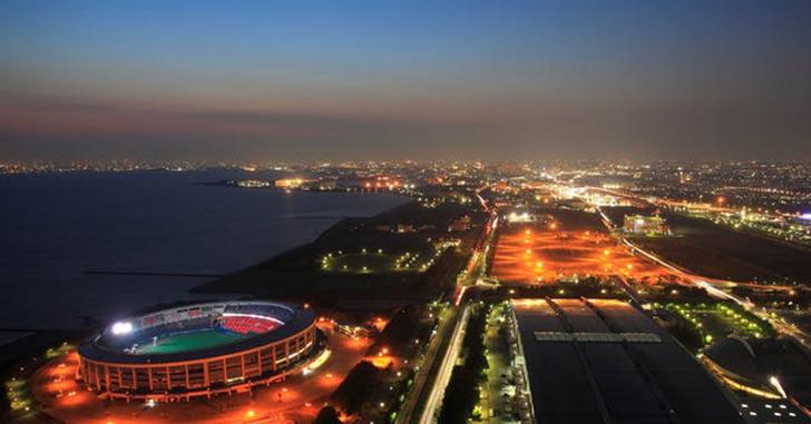64位|アパホテル&リゾート〈東京ベイ幕張〉 夜景がキレイなホテルランキング