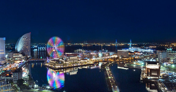 65位|ニューオータニイン横浜プレミアム 夜景がキレイなホテルランキング