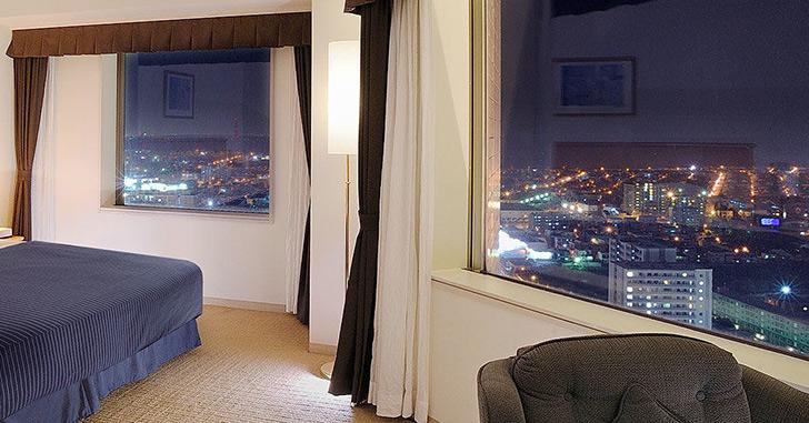 68位|ホテルエミシア札幌 夜景がキレイなホテルランキング