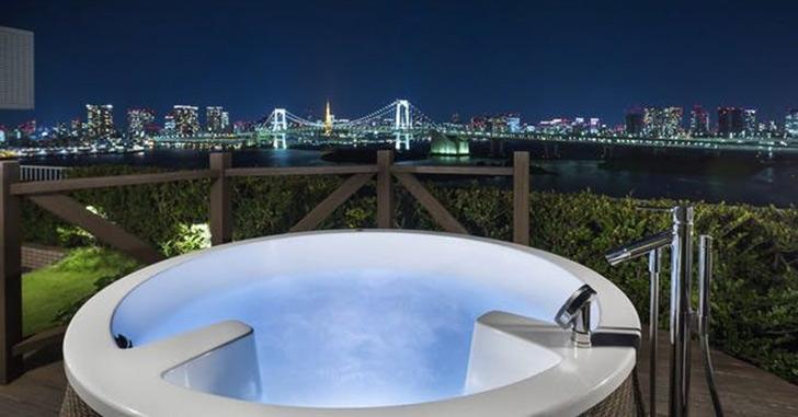 73位|ヒルトン東京お台場 夜景がキレイなホテルランキング