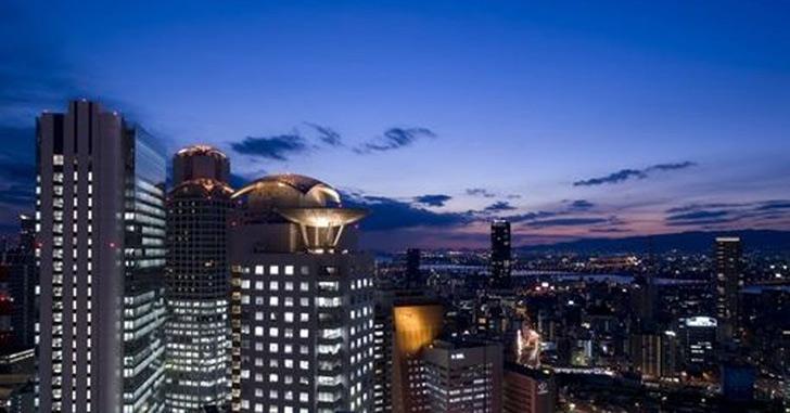 78位|ヒルトン大阪 夜景がキレイなホテルランキング