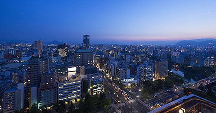 79位|ANAクラウンプラザホテル広島 夜景がキレイなホテルランキング