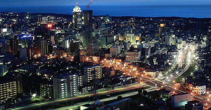 80位|ホテル日航新潟 夜景がキレイなホテルランキング