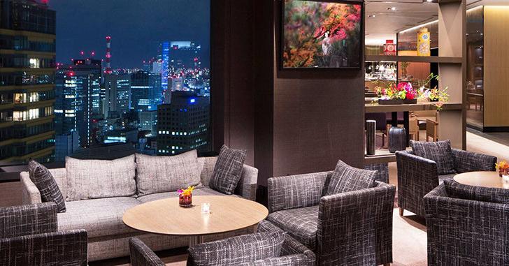 85位|ANAインターコンチネンタルホテル東京 夜景がキレイなホテルランキング