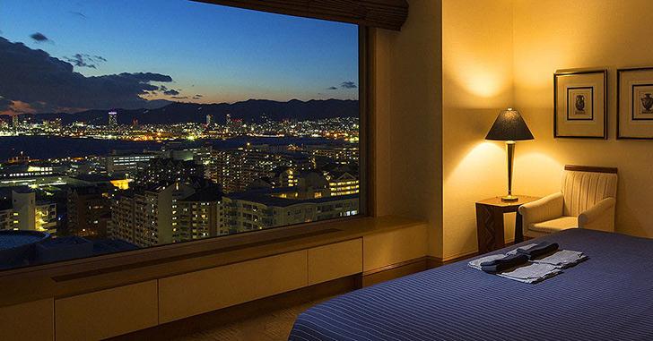 87位|神戸ベイシェラトン ホテル&タワーズ 夜景がキレイなホテルランキング