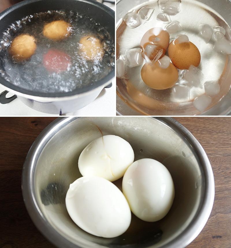 とろとろ半熟卵の作り方