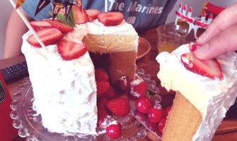 かくれんぼケーキの作り方