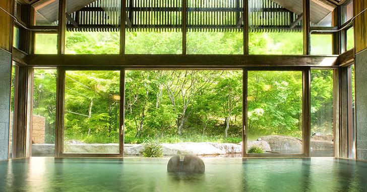 星のや軽井沢 温泉