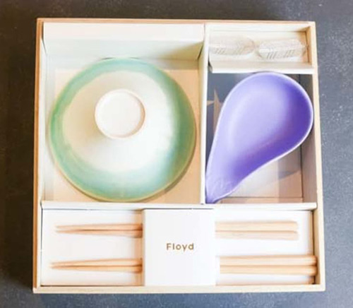 Fuji BAKO 一富士二鷹三茄子|茶碗