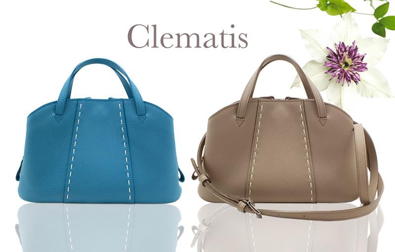 NAGATANIのレディースバッグ「CLEMATIS」