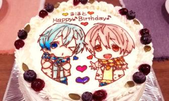 すとぷり誕生日ケーキ るぅとくん ころんくん