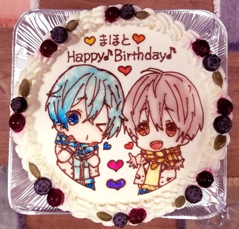 すとぷり 誕生日ケーキ イラストケーキ ころん るぅと