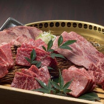 やき肉 かのや 料理
