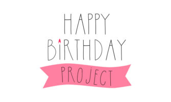 Happy birthday Project ロゴ