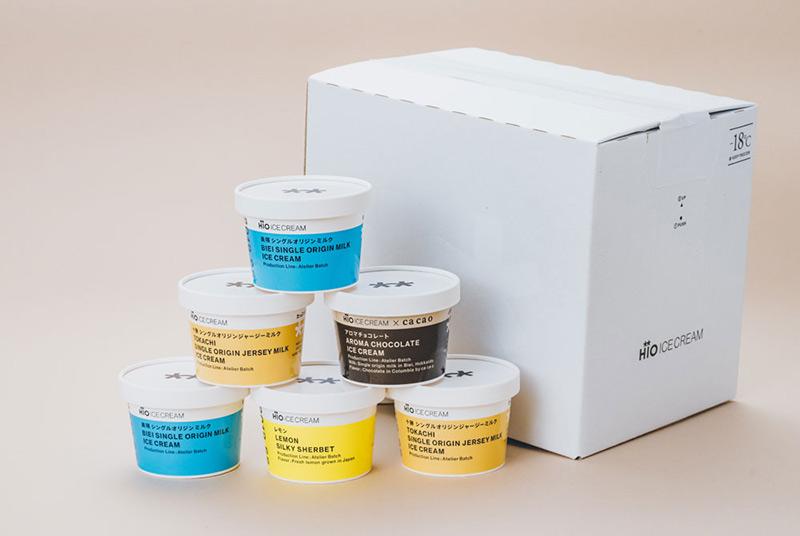 GIFT BOX カルテット 6個入 HiO ICE CREAM