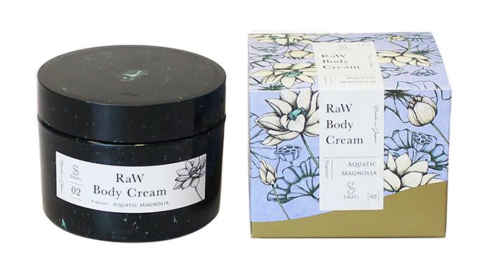 SWATiの人気ボディケアシリーズ「MARBLE label」のRaw body Cream