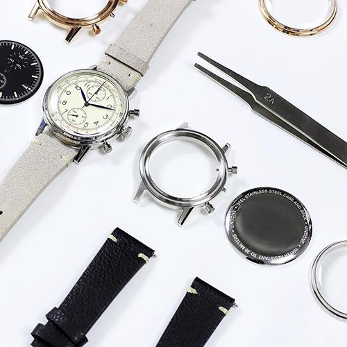 4億通り以上のカスタマイズで、あなただけの腕時計が作れる|UNDONE