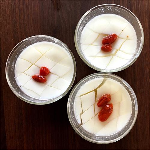 杏仁豆腐 作り方 レシピ