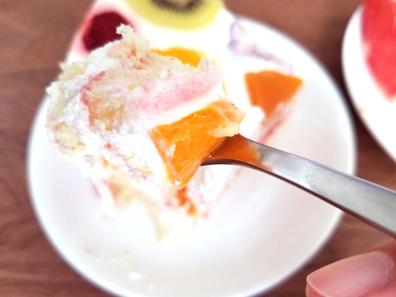 フルーツ断面ケーキ 通販レビュー