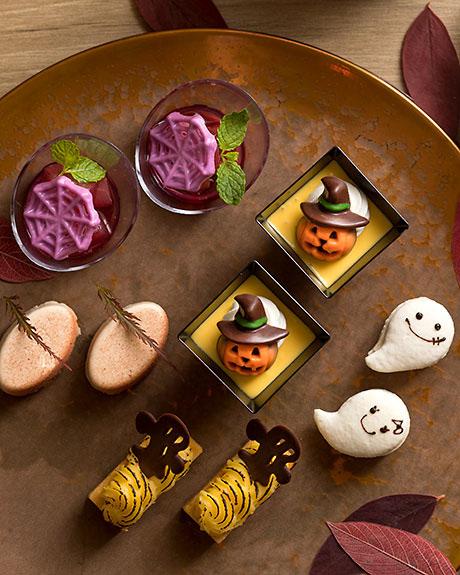 カフェ カリフォルニア/シェラトン都ホテル東京(白金台)ハロウィンスイーツブッフェ