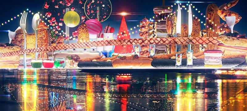 シースケープ テラス・ダイニング/ヒルトン東京お台場  ハロウィンスイーツビュッフェ