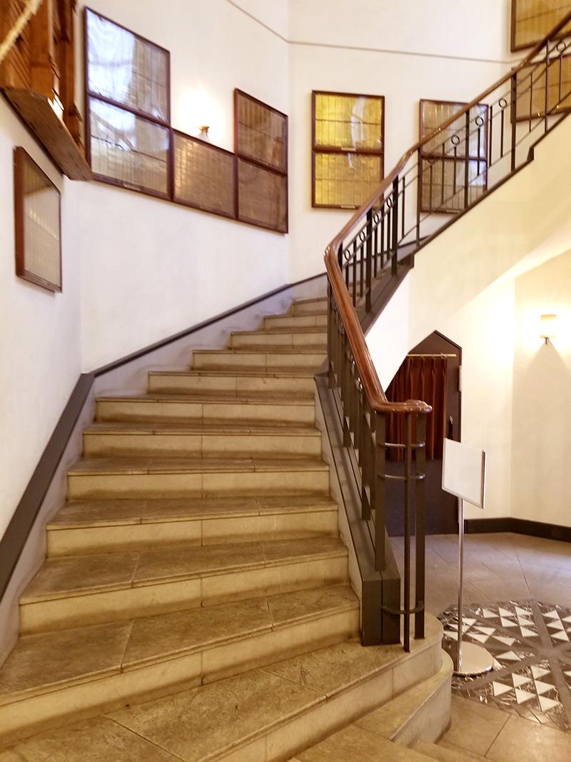 ホテルモントレ銀座 館内 螺旋階段