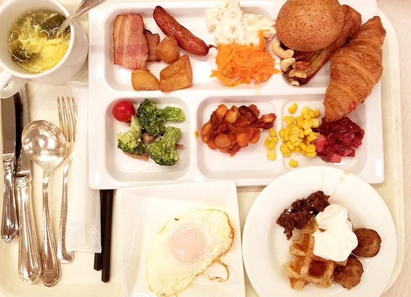 ホテルモントレ銀座 朝食 ブッフェ