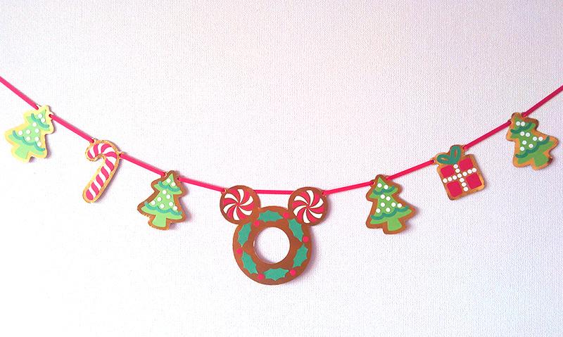 ミッキーのクリスマスガーランド