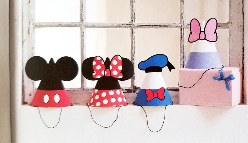 ミッキー&フレンズのとんがり帽子(パーティーハット)