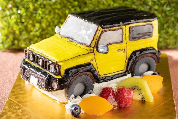 乗り物立体ケーキ(好きな食べ物をケーキで作ってくれる) おもしろケーキ
