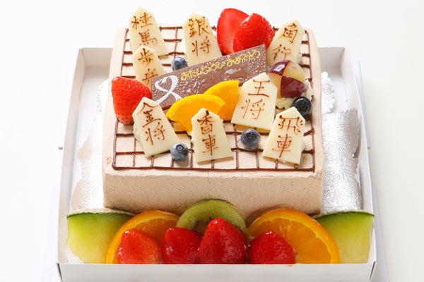 将棋盤デコレーション  おもしろケーキ
