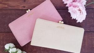 上質ヘアカーフレザーで仕立てた、エーテルのがま口長財布「アリュール・アネット」の商品レビュー
