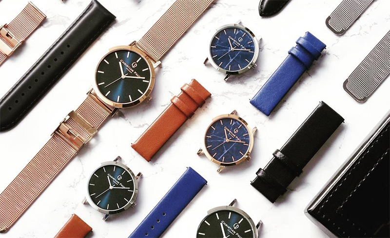 クリスチャンポールの腕時計のカスタマイズイメージ