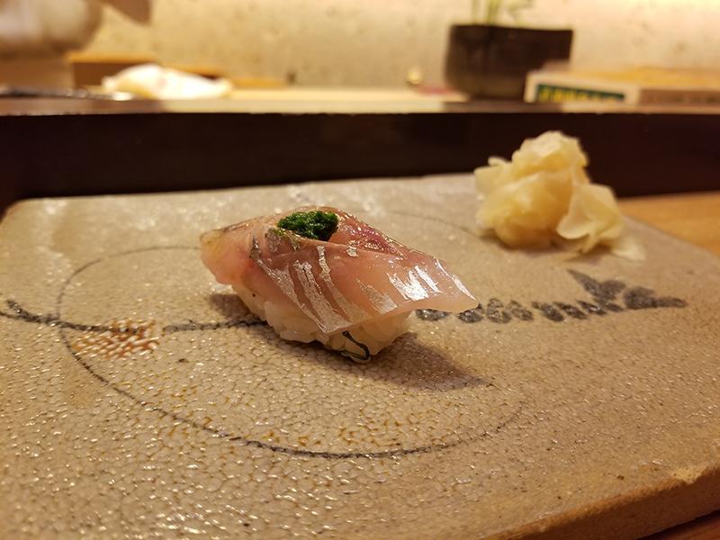 銀座で人気の高級寿司店「すし家 一柳」で食べたランチ