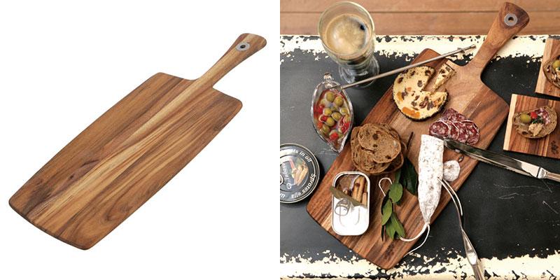 インスタ映えには欠かせない木製ボード「ダルトン アカシアカッティングボード」