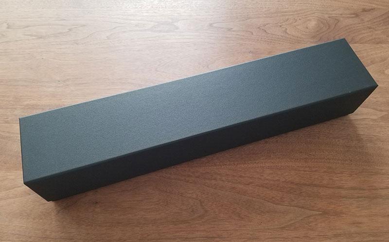赤バラ1輪メッセージローズのボックス パッケージ