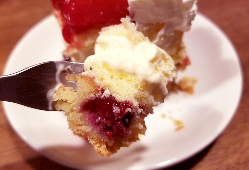 ルタオの2段クリスカスケーキ「グランノエル」 食べた感想