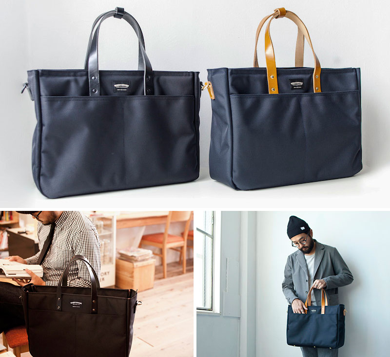 ビジネストートバッグ WONDER BAGGAGE GOODMANS URBAN TOOL BAG