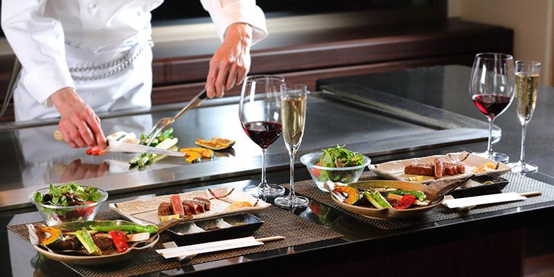 レストラン けやき|虎ノ門・フランス料理、鉄板焼き 店内