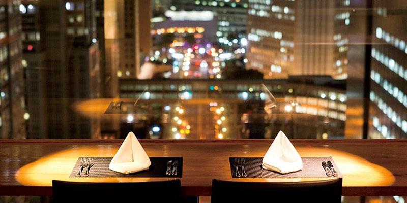 グリル&ダイニング マンハッタンテーブル/新宿ワシントンホテル 夜景