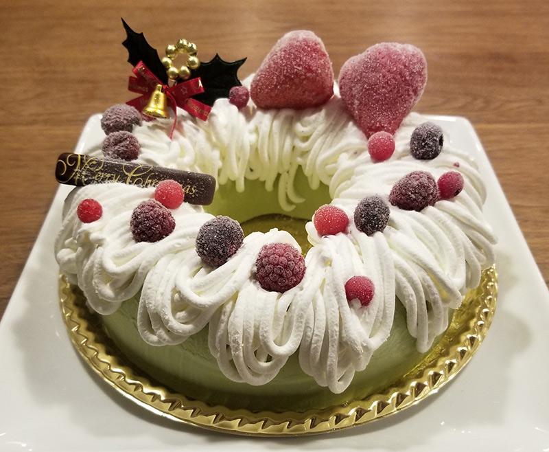 伊藤久右衛門のクリスマスケーキ いちご抹茶アイスケーキ・プレミアム